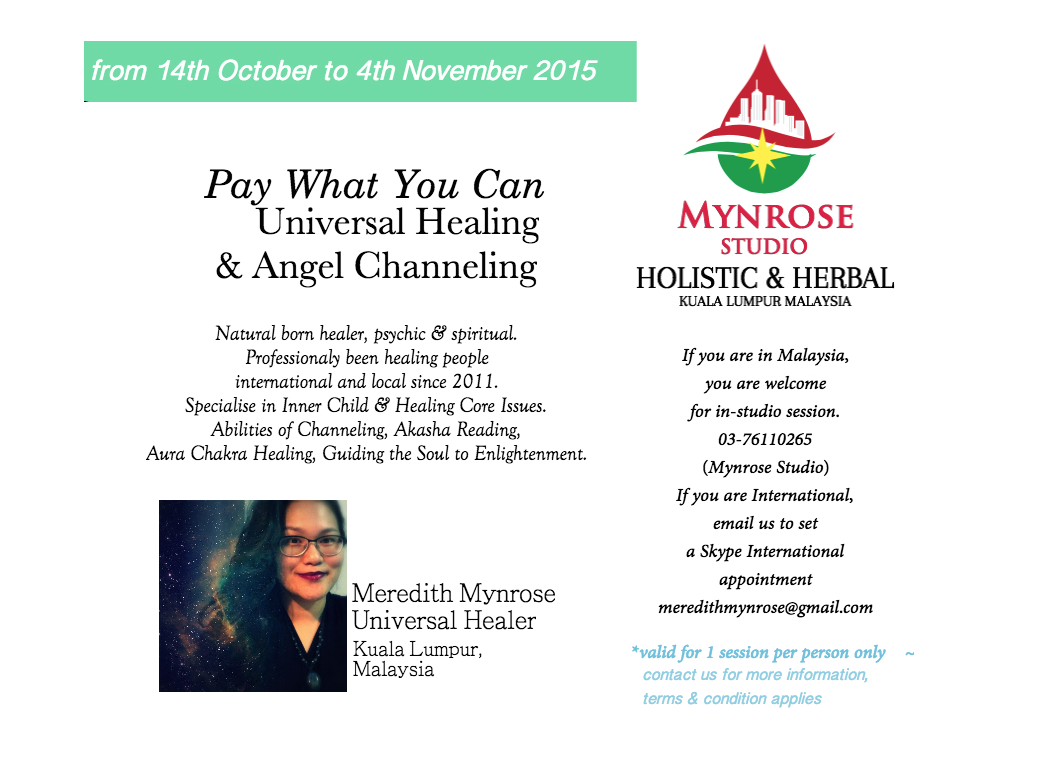 Pay What You Can Universal Healing & AngelChanneling