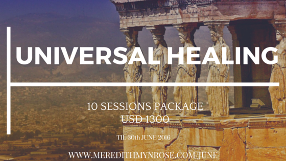 June – Universal HealingPackage